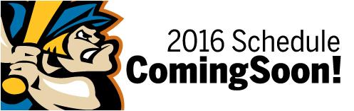 2016 Schedule Coming Soon