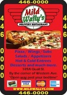Mild Wally's Pizza